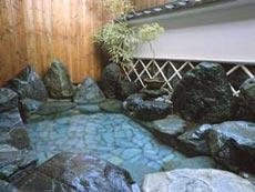 湯村ホテル 自家源泉かけ流しの湯